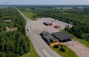 Eesti Piirivalve hoone Via Ikla droon