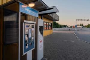Parkimisautomaat Via Ikla