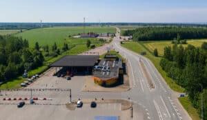 Via Ikla Eesti Läti piiril